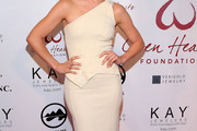 Julianne Hough One Shoulder Dress