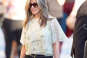 Jennifer Aniston Print Blouse