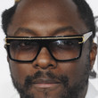 will.i.am Rectangular Sunglasses