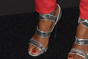 Janelle Monae Strappy Sandals