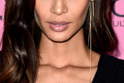 Joan Smalls Dangling Chain Earrings