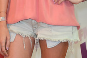 Stephanie Pratt Denim Shorts