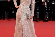 Li Bingbing Off-the-Shoulder Dress