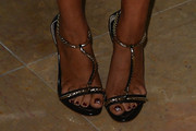 Kaley Cuoco Evening Sandals
