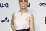 Amanda Schull Fitted Blouse