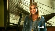 Arielle Kebbel's snakeprint blouse is right on-trend for fall.
