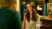 Jessica Lowndes was subtly sparkly on '90210' in this flattering blouson sleeved dress.
