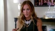 Sarah Jessica Parker continues to rock the ombre trend with long loose waves.