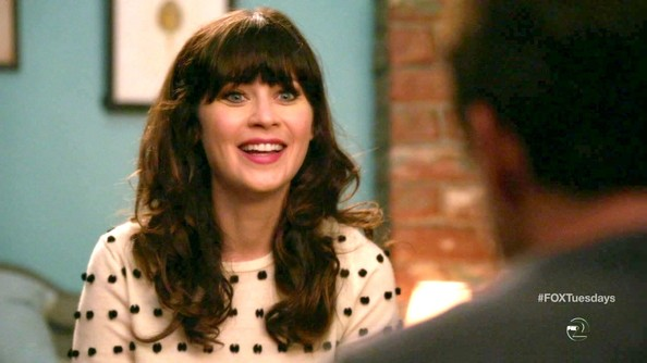 More Pics of Zooey Deschanel Leather Belt (1 of 19) - New Girl Lookbook - StyleBistro