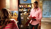 Lamorne Morris showed that real men wear pink when he sported this pink button down on 'New Girl.'