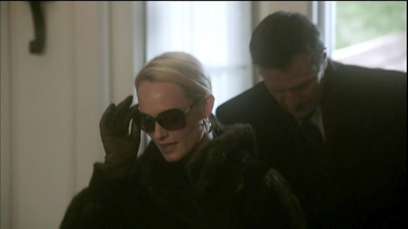Amber Valletta Leather Gloves