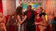 Not every man can pull of a bedazzled button-down shirt, but Donald Driver somehow managed.
