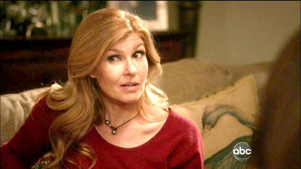 More Pics of Connie Britton Fitted Blouse (1 of 2) - Tops Lookbook - StyleBistro