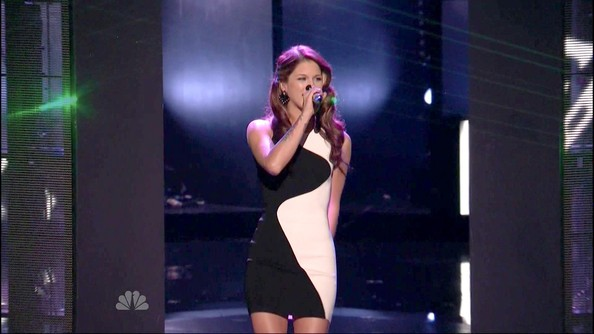 Cassadee Pope Bandage Dress