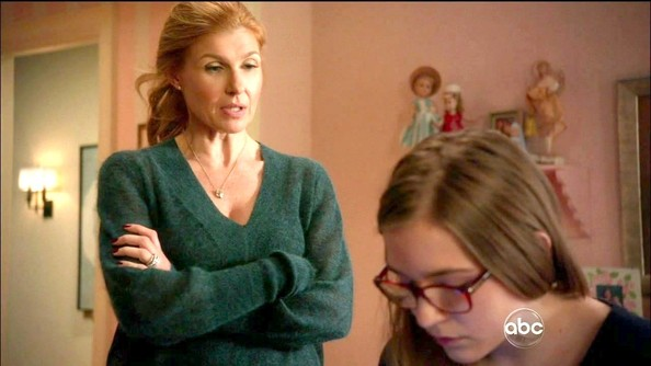 Connie Britton V-neck Sweater