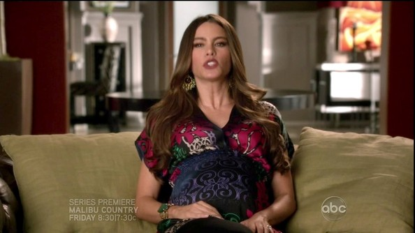 More Pics of Sofia Vergara Maternity Top (1 of 9) - Sofia Vergara Lookbook - StyleBistro