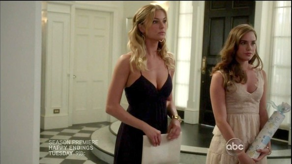 Emily VanCamp Fishtail Dress