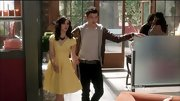 Erica Dasher was a ray of sunshine on 'Jane by Design' in a buttercup yellow dress.