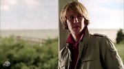 Gabriel Mann's jaw-length 'do is very reminiscent of the '70s.