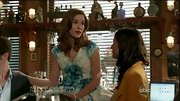 Christa B. Allen was a retro darling on 'Revenge' in a lovely floral print fit-and-flare dress.