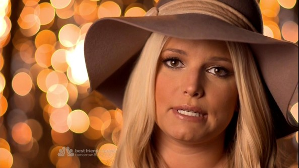 Jessica Simpson Wide Brimmed Hat []