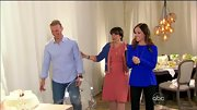 Ashley Rubert had the royal flush during her wedding documentary in this bright blue top.