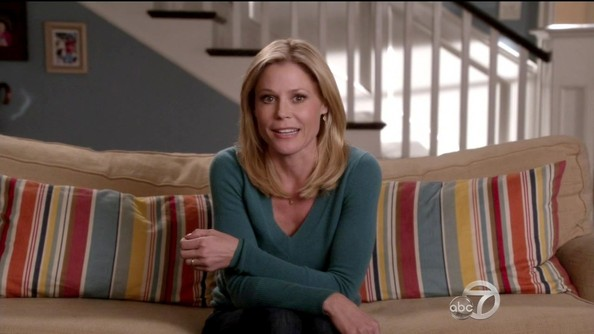Julie Bowen V-neck Sweater