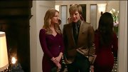 "A gold blazer gave Gabriel Mann a retro look to his character's style on ""Revenge."""