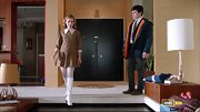 Kiernan Shipka took a page right out of Nancy Sinatra's book on 'Mad Men' with these white Go-Go boots.