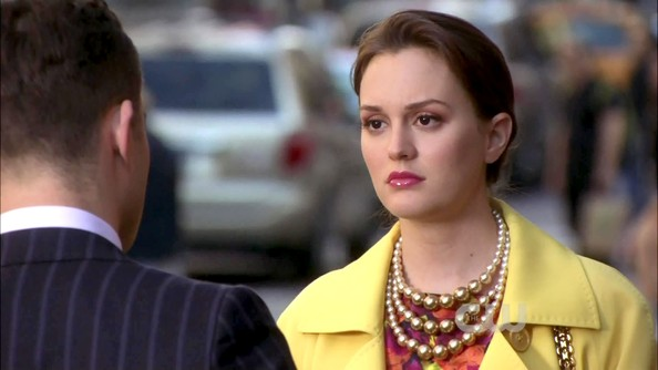 Leighton Meester Cultured Pearls