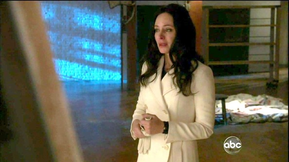Madeleine Stowe Wool Coat