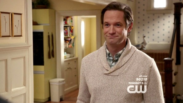 Matt Letscher Shawl-Collar Sweater
