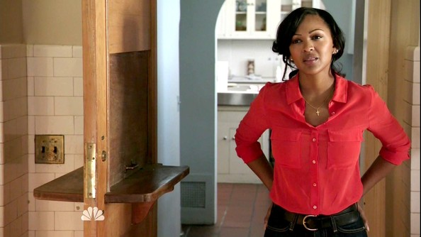 Meagan Good Button Down Shirt