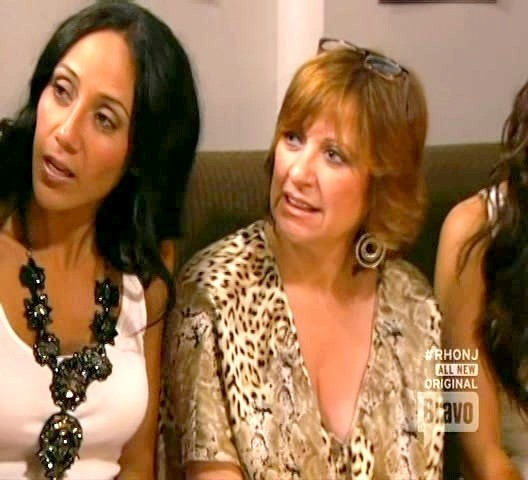 Melissa Gorga Black Statement Necklace