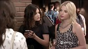 Ashley Benson had us seeing spots on 'Pretty Little Liars' in this chiffon tank.