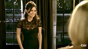 Rachel Bilson's half-up 'do and lacy LBD would make for a superb date look.