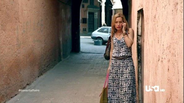 Piper Perabo Maxi Dress