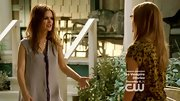 Rachel Bilson was caught doing the walk of shame on 'Hart of Dixie' in a silky gray button-down shirt and not much else.