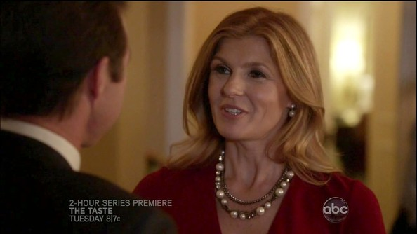 More Pics of Connie Britton Cultured Pearls (1 of 15) - Connie Britton Lookbook - StyleBistro
