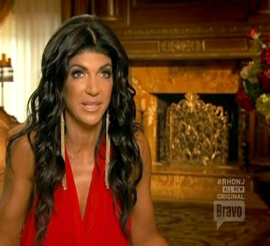 Teresa Giudice Dangling Chain Earrings