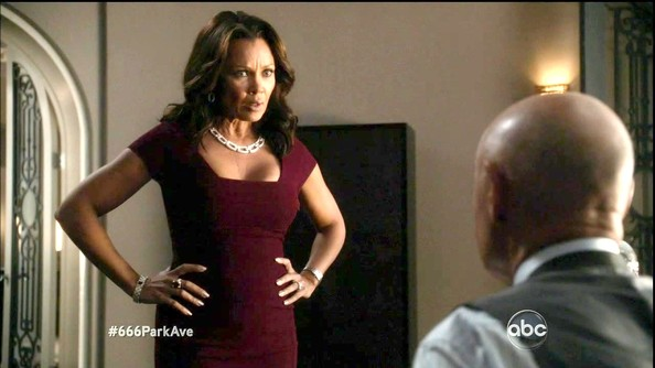 More Pics of Vanessa Williams Diamond Collar Necklace (1 of 8) - Vanessa Williams Lookbook - StyleBistro