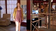 Kaitlyn Jenkins channeled Taylor Swift on 'Bunheads' in a knit mustard cardi and floral dress.