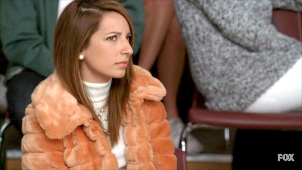 Vanessa Lengies Fur Coat