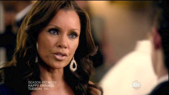 Vanessa Williams Dangling Diamond Earrings