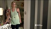 Ashley Benson typically has a bit of a rocker edge on 'Pretty Little Liars,' so even her lime tank has studs and reveals a lacy black bra.