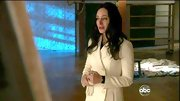 When you play one of the Hamptons' elite like Madeleine Stowe does, you don't have to worry about silly things like dirtying your pristine white coat.