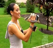 Melissa Gorga kept things super casual in a gray hooded dress on 'The Real Housewives of New Jersey.'