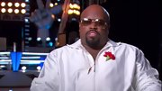 Cee-Lo is rarely seen without a pair of shades like these rectangular aviators.