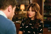 Zooey Deschanel Embellished Top