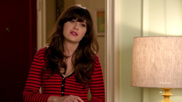 Zooey Deschanel Henley